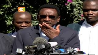 IEBC Bomas talks fail to end NASA, Jubilee row over fresh poll
