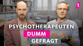 Psychotherapeuten haben viele Verehrer! | 1LIVE Dumm Gefragt