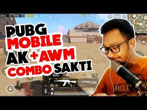 PAKE AWM, KILL 22 AUTO CHICKEN - PUBG MOBILE INDONESIA