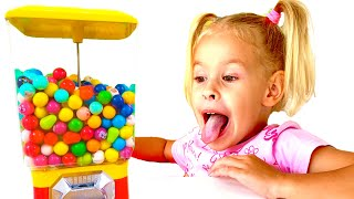 Ева и сборник для детей про вредные сладости / Collection for children about harmful sweets