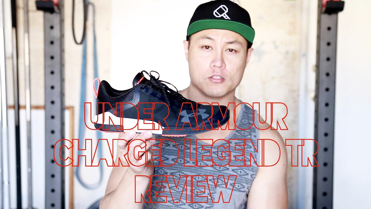 Under Armour TR Charged Legend TR Armour Review YouTube 8c5032