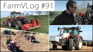 FarmVLOG#91: VIEL LOS! RÜBENSAAT, CASE VESTRUM, WILDSCHADEN, MISTSTREUEN