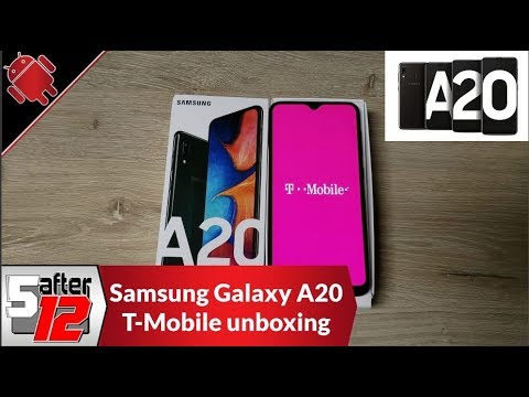 t-mobile-samsung-galaxy-a20---unboxing-and-initial-thoughts