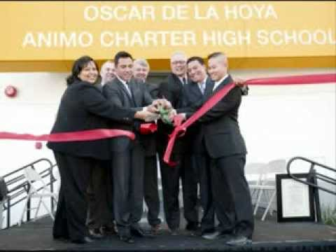 Oscar de la Hoya school project