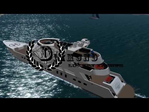 The Island Girl Virtual World Yacht