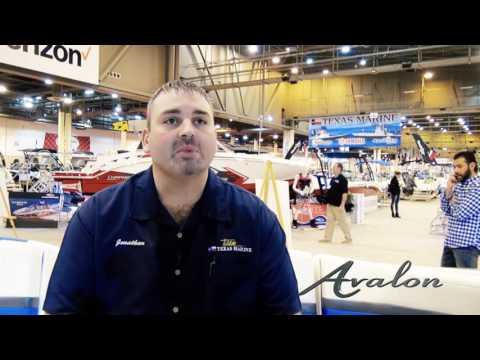 Texas Marine Testimonial for Avalon Pontoons