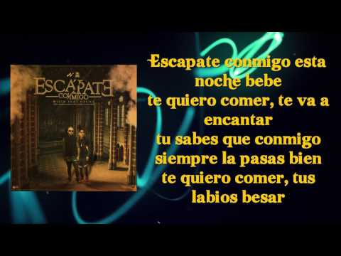 "Wisin ft. Ozuna - Escápate Conmigo | Lyrics ""LETRA"" 2017"