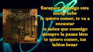 "Wisin ft. Ozuna - Escápate Conmigo | Lyrics ""LETRA"""