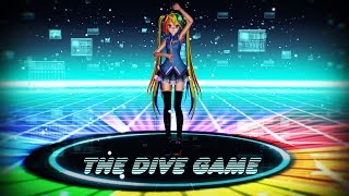 Repeat youtube video [MMD] The Dive Game [Rainbow Dash Miku]