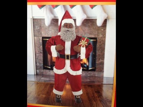 Animated African American Santa Sings And Tell Stories Myefavors