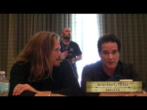 Jason Lewis & Yul Vazquez from Midnight Texas talk about their roles in the series