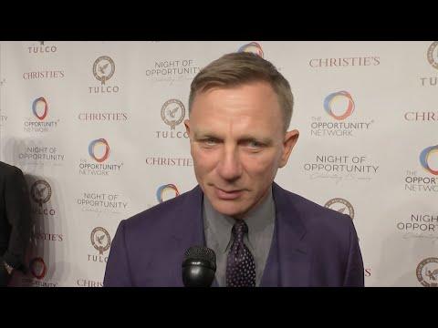 Daniel Craig confirms he'll be Bond 25