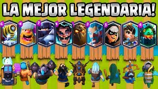 LA MEJOR CARTA LEGENDARIA? | OLIMPIADAS de LEGENDARIAS | RETO CLASH ROYALE | 1vs1 | LEGENDARY