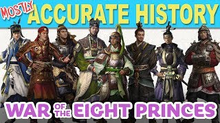 War of the 8 Princes   MOSTLY ACCURATE HISTORY