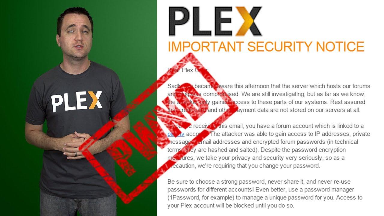 Plex login reddit