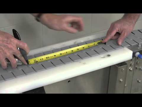 How to Measure Chain Elongation for Rexnord FlatTop Chain