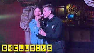 Kenzie Ziegler & Johnny Orlando Singing