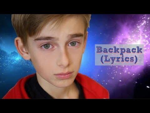 Justin Bieber - Backpack (Johnny Orlando Cover) (Lyrics) (2014)