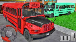 Offroad School Bus Driving Simulator - Bus Games! Android gameplay