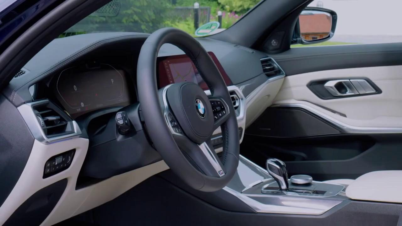 Der neue BMW 3er Touring Interieur - Moderne Funktionalität in einem  Premium-Ambiente
