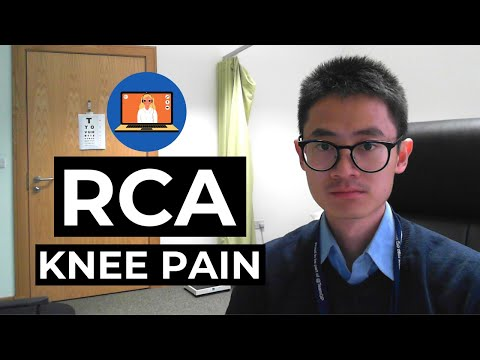 RCA Knee pain (Video Consult)