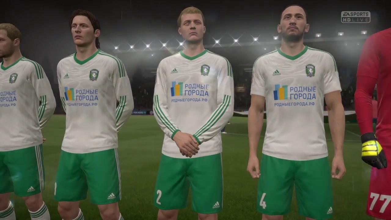 Fifa 17 Fk Krasnodar Vs Tom Tomsk Union Park Stadium Youtube
