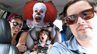CLOWN PRANK MAKES GIRL CRY