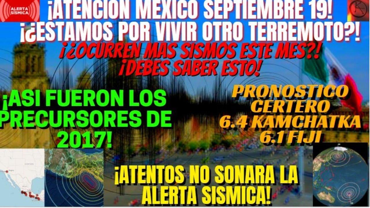 ¡🚨URGENTE🚨! !¡¿VIENE UN TERREMOTO PARA MÉXICO EL 19?! ¡DEBES SABER ESTO! ¡SUDAMÉRICA RIESGO ALTO!