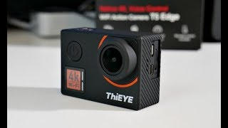 2018 Impressive ThiEYE T5 Edge Action Camera - Native (REAL) 4K - EIS - Voice Remote