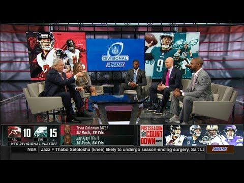 Falcons Loss to Eagles Game Discussion  | NFL Countdown | Jan 14, 2018