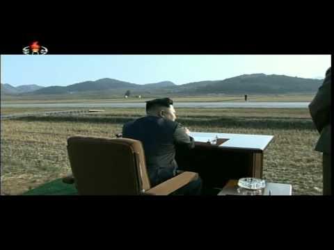 Kim Jong Un guides KPA Air Force and Army drills