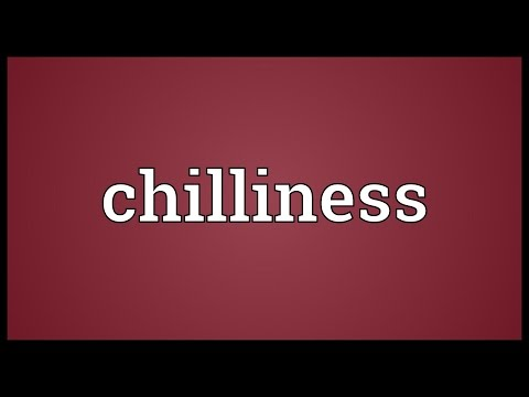 Header of chilliness