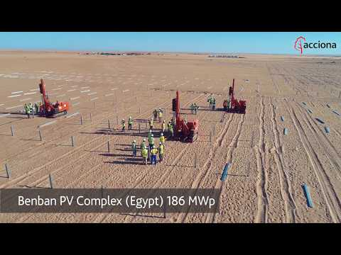 ACCIONA Energy: contributing to renewable energies developme