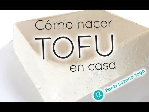 Cómo hacer TOFU en casa - paso a paso - fácil de hacer