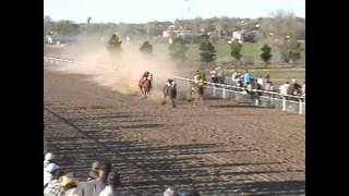 RANCHO EL PALOMINO DODGE CITY KS ABRIL 10 2011 ABBIERTA DE 350 YARDAS