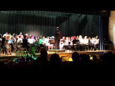 Elkview middle school band 2015