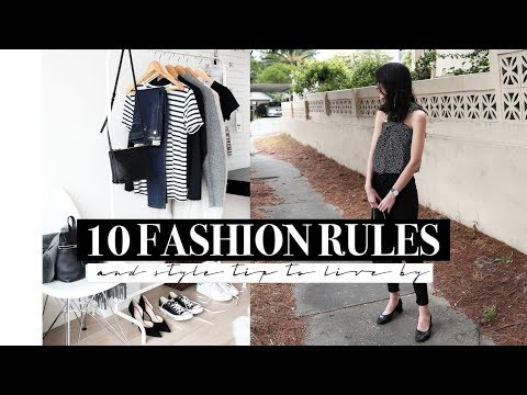 10 Fashion Rules + Style Tips to Live By | Mademoiselle