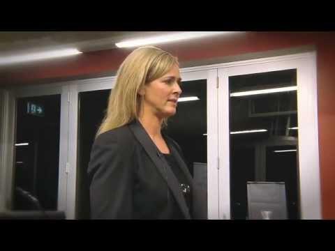 Rhiannon Rees (1hr talk @ The Queensland Tennis Club - May 2012)