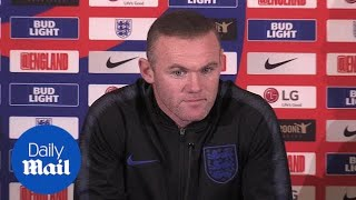 Wayne Rooney says it feels 'great' to be back in England squad