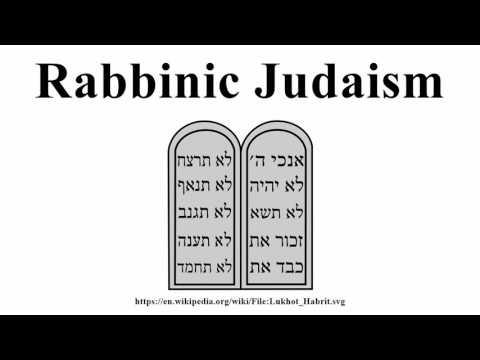Rabbinic Judaism
