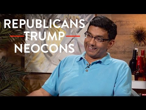 Dinesh D'Souza on Republicans, Trump, and Neocons