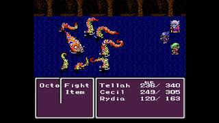 SNES Quest - G19E5 - Final Fantasy 2 (4) - Seafood and Spoons