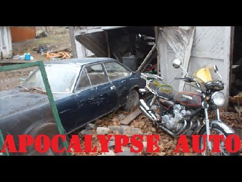 First start in 30 years!! FREE Fiat and Honda Motorcycle  Apocalypse auto ep.11