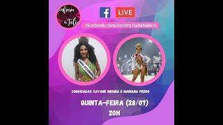 Confraria Ao Vivo - 28/07/2020 - A representatividade de uma corte de carnaval