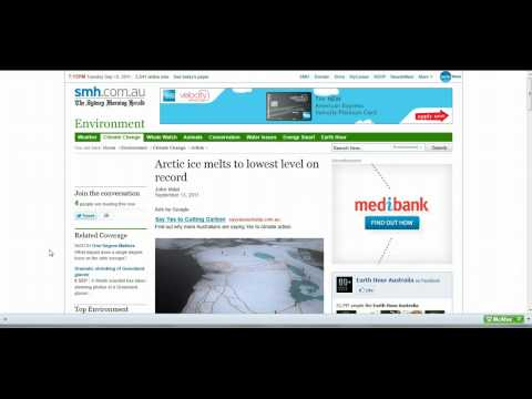 Artic Ice Melts To Lowest in 8000 years (Warning: Rant ahead)