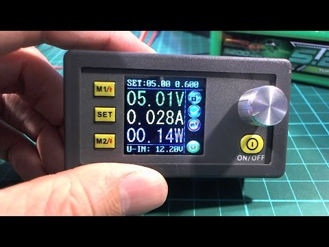 Mini adjustable DC power supply/meter first look DP50V5A