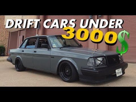 Best Drift Cars Ever - Cheap Drift Car Mods For Beginners