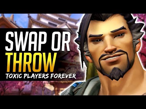 Overwatch - SWAP OR THROW - Toxic players still a major issue