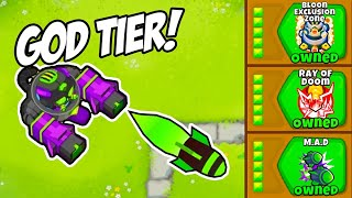 Most INSANE Path For The DARTLING Gunner In Bloons TD6