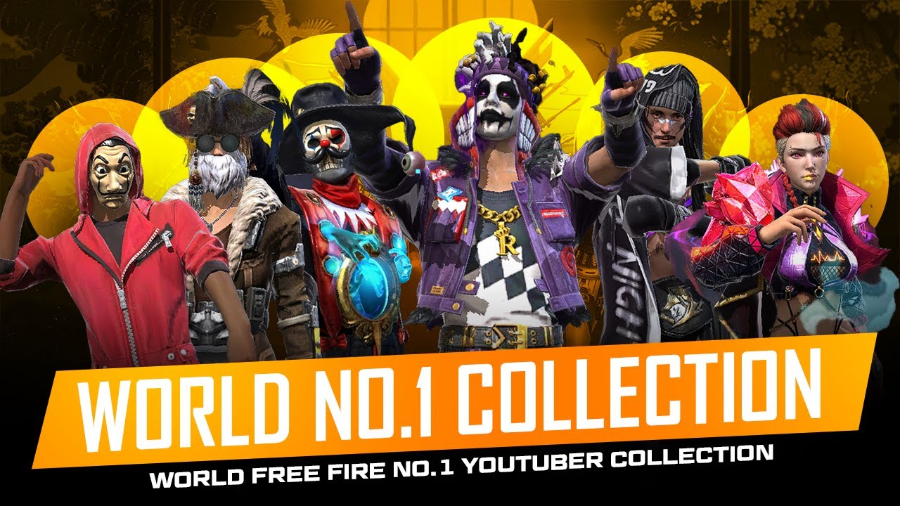 World No 1 Free Fire Youtuber Best Collection Must Watch - Garena Free Fire